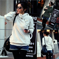 Womens Hoodies Sweatshirt Sport Fashion Pullover Winter Warm Coat Tops