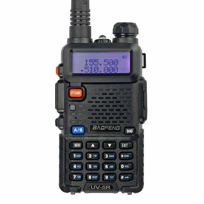 Free shipping+Free earpiece BaoFeng Dual Band UHF/VHF 136-174/400-520MHz Two Way Ham FM Walkie Radio(China (Mainland))