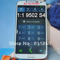 Mobile Phone For  S4 I9502 I9500 Dual Sim Card Mobile phone MTK6589 Quad Core Cheap Mobile Phone 1:1 Designing High Quality New