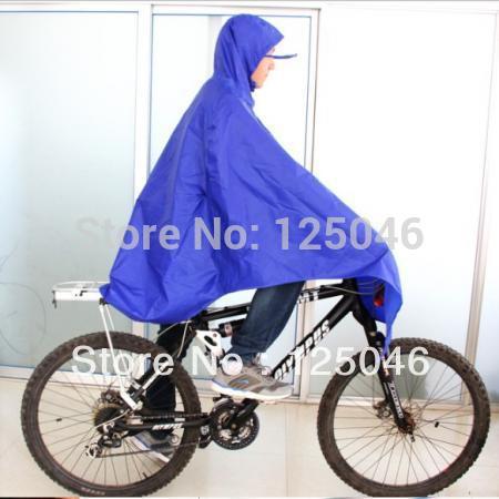 Синий езда на велосипеде велосипед велосипед плащ дождя пончо ткань передача водонепроницаемый CC9010