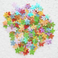 Paillette diy clothes accessories handmade accessories 5 paillette flower 10mm paillette flower 1000pcs/lot