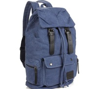 Large capacity Canvas Backpack leisure travel backpack men's and women's computer bag students school backpack
