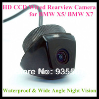 HD CCD Backup car rear view camera for BMW X5/ X7 with 728*582 pixel 170 degree wide Angle night vision waterproof