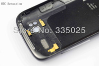 [10pcs/lot free shipping] for htc original back housing cover with oem logo for sensation s710e g14; back cover replacement
