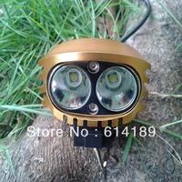 Owl 2x CREE XM-L2 U2 2200lm 4-Mode LED Bicycle Light+ 1x 6600mAh Battery Pack+1xCharger