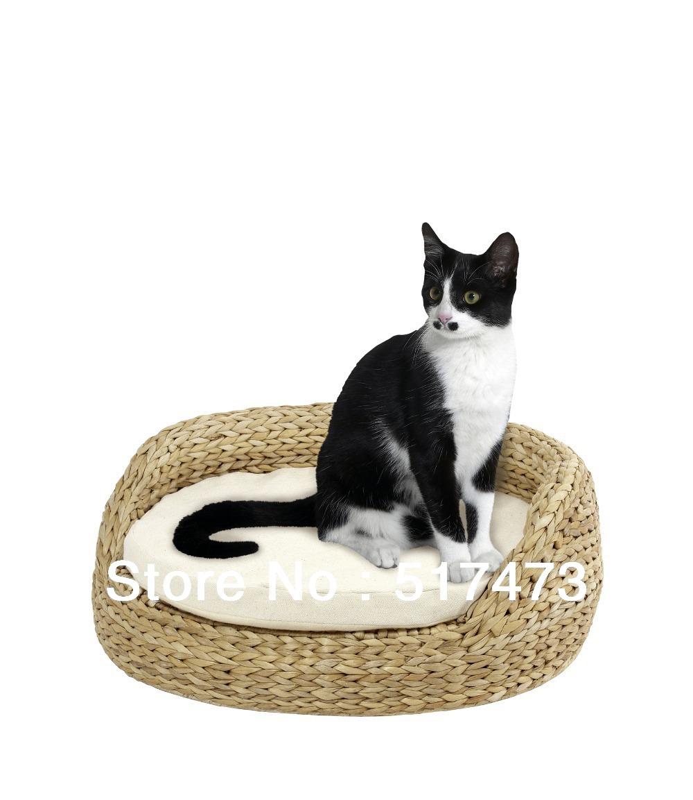 cozy natural banana leaf cat cave ,cat sofa,pet products,pet bed,banana leaf furniture(China (Mainland))