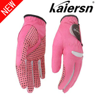 free shipping Kaiersn women's gloves kanakin slip-resistant golf  glove Women soft and breathable