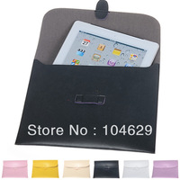 Cheap Lines Envelop CASE COVER Shell Protector For APPLE iPad 2&3 4 New iPad 6 ColorsCM669