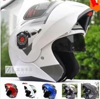 Jiekai 105 the Safe Motorcycle Helmet Flip up helmets with dual lenes inner sun glass visor china motocycles Racing helmet