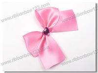 Women fashion  fragrance bottle decorative bows for neck wrapping