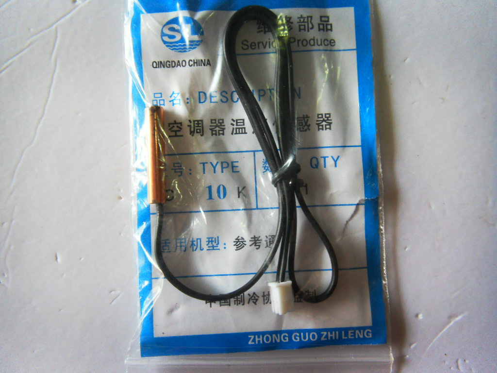 Air tube 10k tube 10k air sensor thermal head sensor(China (Mainland))