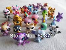 Original Lots of 10 pcs Little Pet Shop LPS Figures New Losse(China (Mainland))