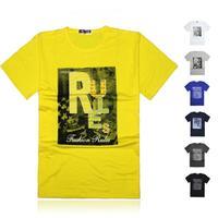 Men's T-shirts 2014 fashion men shirt o-neck short-sleeve T-shirt sport tee European size L XL XXL XXXL XXXXL Free shipping