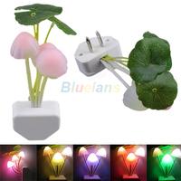 New Colorful Romantic LED Mushroom Dream Night Light Bed Lamp Sale 01NE
