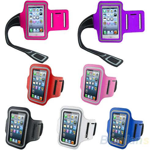 Waterproof Sports Running Case Workout Holder Pounch For iphone 5 5G Cell Mobile Phone Arm Bag Band 01KB(China (Mainland))