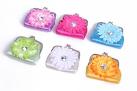 12pcs hot purse cartoon girls diamond clasp purse money coins A packet of sunflower