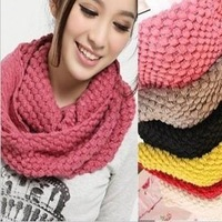 2014 autumn and winter female candy color yarn scarf muffler yarn pullover muffler scarf 100g (4PC)