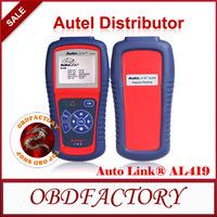 New 2014  Autel AutoLink AL419 OBD II & CAN Code Reader AutoLink AL-419  Tools Electric obd2 Auto Diagnostic Tool