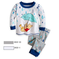 Wholesale + free shipping! 2014 new 2 to 7 years old children suit, long-sleeved clothes, cartoon boy leisure autumn outfit.