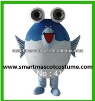 2014 fish mascot costume fancy dress costume