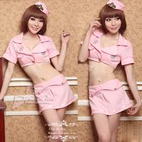 appeal clothing Pink sweet elegant stewardess uniforms pub ds costume uniforms role temptation  sexy costumes