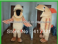 2014 hot sell adult fish mascot costume fish carnival costumes
