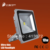 New 2013 outdoor christmas spotlight led ultrathin flood light handheld led 10w floodlight waterproof ip65 20pcs/lot