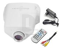 New EJL E03 MINI Home Theater LED LCD Projector 50 Lumens USB VGA HDMI 1080P HDTV P0007662 Free Shipping
