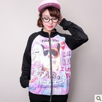 2014 Autumn and Winter New Fashion Women Long Sleeve Lady Personality Stylish Women's Hoodies