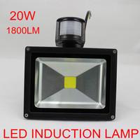 PIR motion sensor 20W LED floodlight Epistar 35mil SMD1800lm AC85~265V warm white/cold white