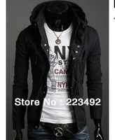 Free shipping! 2013 New winter fashion casual men's British style jacket/warm men's short jackets hot models wholesale/Big Size