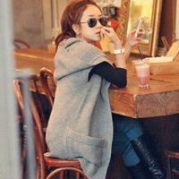 Spring and autumn women's all-match medium-long knitted sweater vest loose plus size outerwear fashion vest