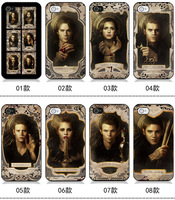 Fashion Vampire Diaries Hard Case Cover For iPhone 5 5s 4 4S  8pcs/lot