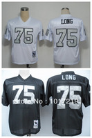 Wholesale Cheap Men's American Football Jerseys #75 Howie Long M&N Throwback Jerseys,Name and Number Stitched