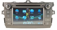 HD Car DVD Player GPS 3G Navi Radio RDS For 2006-2012 TOYOTA Corolla Free camera free shipping