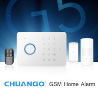 DHL Free Shipping! Chuango G5 Touch Keypad GSM SMS Wireless Home Security Burglar Alarm System RFID Access Control 315MHZ