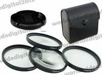 52 MM Macro Close Up Filter Lens Kit +1 +2 +4 +10 Petal Flower Lens Hood  Filter Kit for Nikon D5200 D5100 D3200 D3100