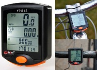 New LED Display Cycling Bicycle Bike 24 Functions Computer Odometer Speedometer