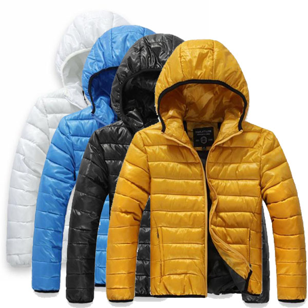 New 2013 winter fashion men's down jackets male coats outwear overcoat parka 4 colors Free shipping(China (Mainland))