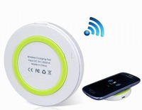 Green & White QI Wireless Charging Pad Free Shipping