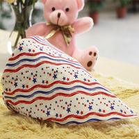 Free shipping 10pc spring cotton baby triangle saliva towel bib Burp Cloths scarf handkerchief newborn infant toy gift