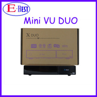 2014 Vu DUO Mini  X DUO DVB-S2 HD Satellite Receiver  Linux OS Twin Tuner  With Decoder Support OPENPLI 4.0 DHL Free Shipping