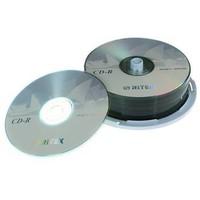 Hot Sale! 25pcs/lot RITEK CD-R Vinyl Blank Discs 48X 800MB 90Mins CDR Blank CD Disks Free Shipping