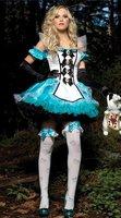371 , fantasy Alice White princess dress tutu dress maid outfit maid dress Halloween costumes Cosplay