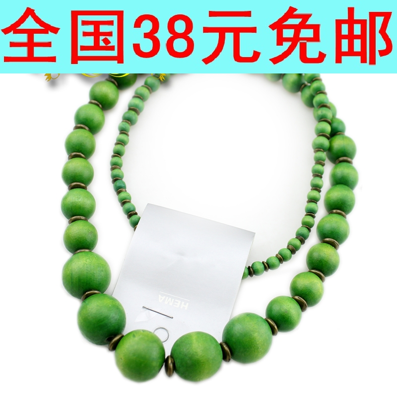 Ultra long necklace hm fashion accessories x(China (Mainland))