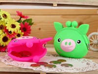 2013 Silicone Purses Candy Fashion Money Silicone Pouch Silicone Wallet Cute Gifts