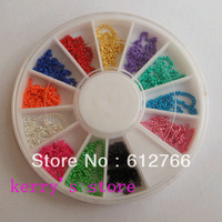 naill art decoration nail art  chain mix 12 colors