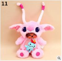 WJ123 Fashion Lovely Plush Stuffed Animal Doll Toy Cartoon Monchhichi Style 28 CM Supernova Sale Baby Christmas Birthday Gift