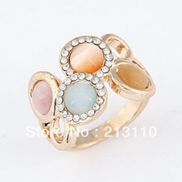 2014 Fashion Crystal Ring Jewelry For Women High Quality