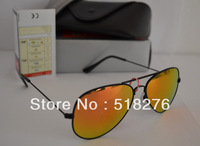 RRay New style Brand Designer sun glasses men women Fashion 3025sunglass 58mm and 62mm